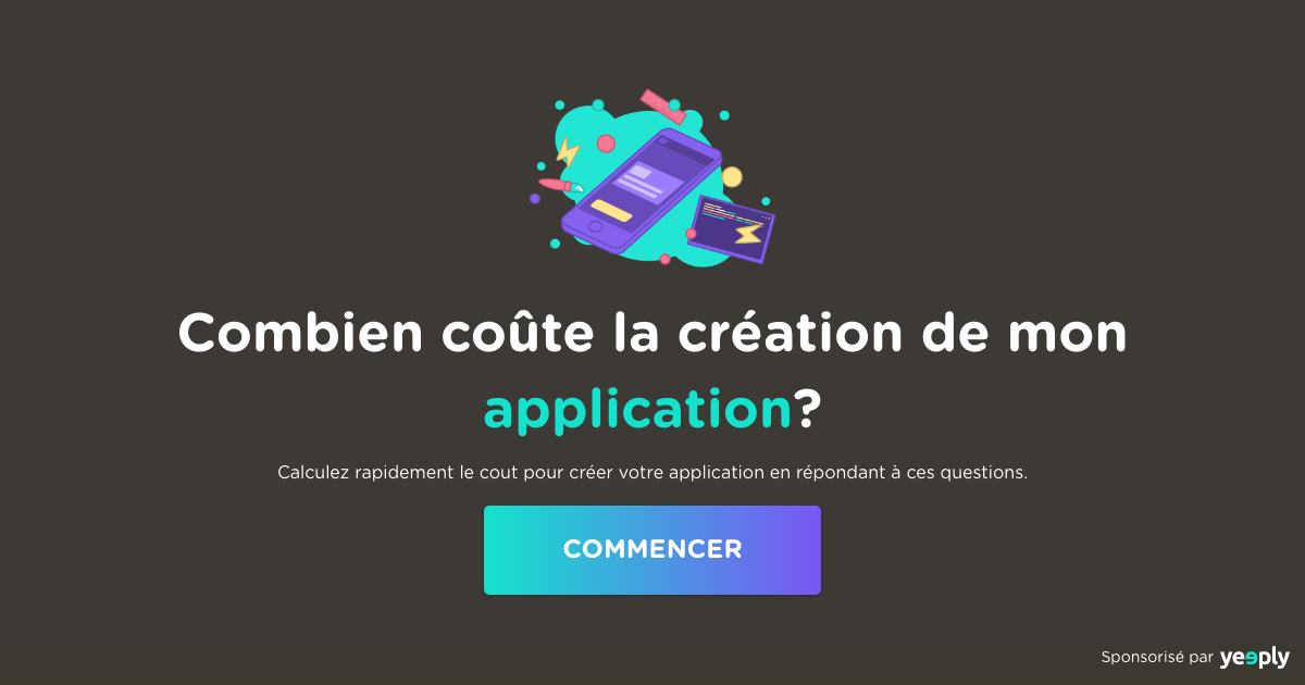 combien  u00e7a co u00fbte de cr u00e9er une application